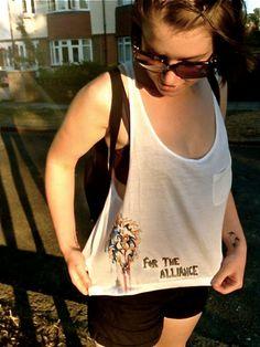 Oh For Fox Sake Funny Animal Graphic Tee Punny Novelty Tank Top 242 mv Shirt S