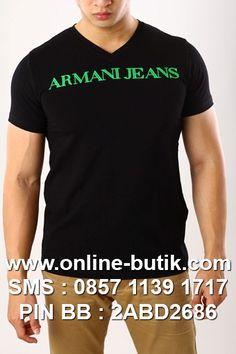 KAOS ARMANI PREMIUM | Kode : TP ARMANI 9 | Rp. 190,000
