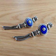 Seaflower Earrings Silver Flowers, Lapis Lazuli, Sterling Silver Earrings, Bracelet Watch, Chain, Bracelets, Accessories, Jewelry, Jewlery