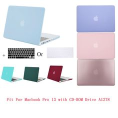 Mosiso Shell Cover Case for Macbook Pro 13 CD Drive ( Model A1278) 2008 - 2012