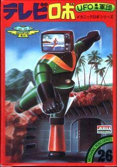 TV head robot