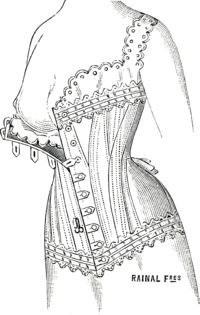 Leon Jules Rainal Freres 1907 Paris Nursing corset Wikicomons (apparently doesn't have bones over the nipple? Historical Costume, Historical Clothing, Victorian Era Fashion, Vintage Fashion, Breastfeeding Art, Imperial Fashion, Corset Pattern, Dress Drawing, Carnival Costumes