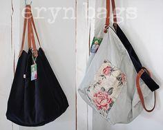 Japan Bag, Best Tote Bags, Linen Bag, Diy Bags, Fabric Bags, Shopper, Cloth Bags, Handmade Bags, Recycling