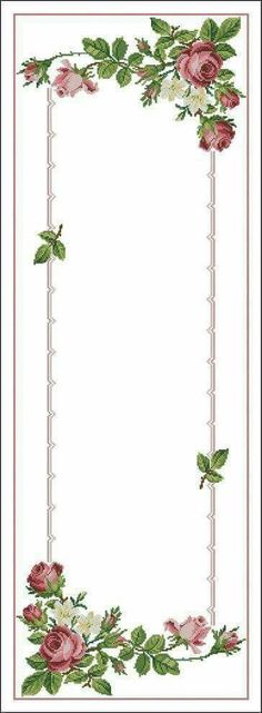This Pin was discovered by Nur Just Cross Stitch, Cross Stitch Borders, Cross Stitch Flowers, Cross Stitch Designs, Cross Stitching, Cross Stitch Embroidery, Hand Embroidery, Cross Stitch Patterns, Beading Patterns