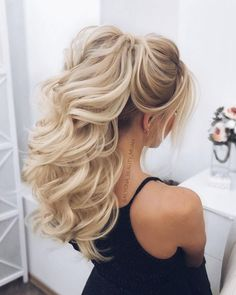 DIY Ponytail Ideas You're Totally Going to Want to 2019 Hochzeitsfrisur 2019 Hochzeitsfrisur 2019 Adorable Ponytail Hairstyles; Classic Ponytail For Long Hair; Dutch Braids To A High Pony;High Wavy Pony For Shoulder Length Hair Hochzeitsfrisur 2019 Wedding Hair And Makeup, Bridal Hair, Hair Makeup, Short Wedding Hair, Diy Wedding, Wedding Ceremony, Box Braids Hairstyles, Wedding Hairstyles, Ponytail Hairstyles For Prom