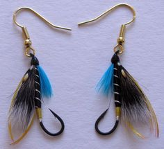 My next fly tying venture! Can't wait to try making a pair for myself.