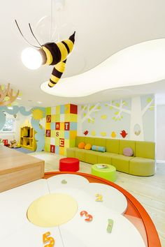 Dent Estet Healthcare Design Firm, Bucharest Kids Dental Clinic #healthcare