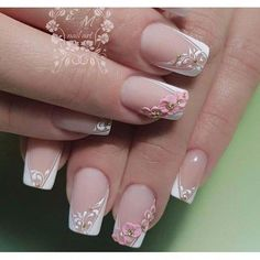 New nail art trends bring you unlimited nail design inspiration - Page 32 of 117 - Inspiration Diary 3d Nail Designs, Creative Nail Designs, Creative Nails, New Nail Art, Cool Nail Art, 3d Nails, Cute Nails, Nail Nail, Nail Art Modele