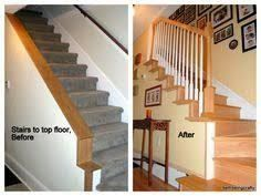 Image Result For How To Fix Steep Stairs Little Headroom Stair Remodel House Staircase Staircase Remodel