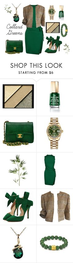 """""""School Boy Q f/ Kendrick Lamar- Collard Greens"""" by texasradiance ❤ liked on Polyvore featuring Elizabeth Arden, Mavala, Chanel, Rolex, Pier 1 Imports and Dsquared2"""