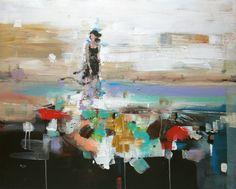 "Saatchi Art Artist OSCAR ALVAREZ; Painting, ""D-2"" #art"