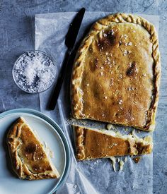 Perfect for a party, this cheese pie can be prepared ahead and kept covered in the fridge until you're ready to serve it.