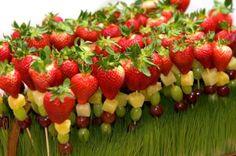 Brochettes fruits