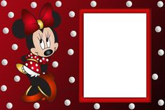 Minnie Mouse Transparent PNG Frame