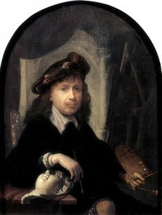Gerrit Dou · Autoritratto · 1635-38 · Cheltenham Art Gallery & Museum