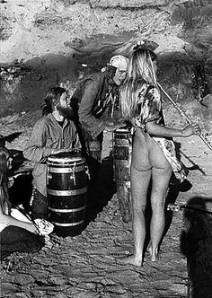 Woodstock 69 drums and flutist