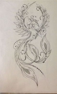 Result for images for Feminine Phoenix Tattoo Designs diy tattoo images - tattoo images drawings - t Mandala Tattoo Design, Tattoo Design Drawings, Design Tattoo, Tattoo Designs Men, Kunst Tattoos, Bild Tattoos, Body Art Tattoos, Small Tattoos, Sleeve Tattoos