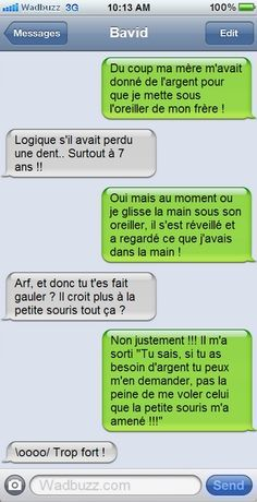 Read this small history Funny Images, Funny Pictures, Funny Cute, Hilarious, Lol, Funny Text Messages, Happy Fun, French Quotes, Funny Posts