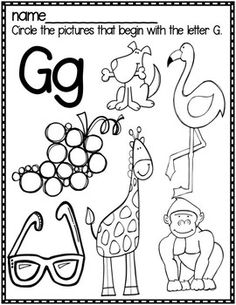 cute letter find worksheets with a freebie christmas preschool worksheets letter g. Black Bedroom Furniture Sets. Home Design Ideas
