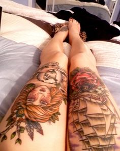 I will have a thigh tattoo!!!