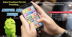Zeba Creations pvt ltd. the best # Mobile Application Design & development company in Hyderabad, provides services for custom mobile applications Development world wide. See more @ http://www.zebacreations.com