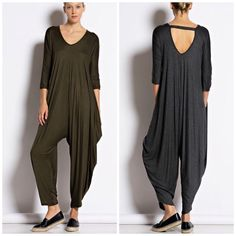 New Color Olive Jumpsuit Playsuit Romper Best. Selling 3/4 sleeve style jumpsuit nwot . Loose style comfortable and easy to wear you won't want to take it off . Nwot please use Poshmark new feature to select your size . Updated daily . Vivacouture Dresses
