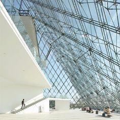 Moerenuma park glass pyramid