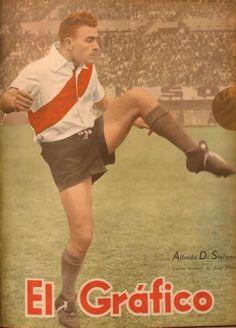 @anituarco (Ángel Iturriaga): La primera portada de Di Stefano en El Gráfico: junio de 1947, tenía 20 años [2013-01-09] vía Twitter