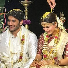 Meet Mr And Mrs Akkineni The Wedding Pics Of Sam And inside Samantha Wedding - Party Supplies Ideas Samantha Marriage, Samantha Wedding, Wedding Pics, Wedding Couples, Cute Couples, Happy Couples, Wedding Album, Wedding Outfits, Wedding Shoot