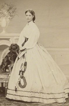 Princess Dagmar later Empress of Russia - 1860's