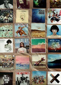 Arctic Monkeys, Foals, Florence & The Machine, Jezabels, Kimbra, Lana del Rey, Last Dinosaurs, Matt Corby, Mumford & Sons, San Cisco, The Rubens, Two Door Cinema Club, The Vaccines, The Wombats, The xx