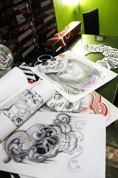 tattoo studio by Giacomo Grifi on 500px