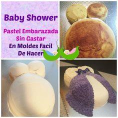 Como Hacer Pastel De Embarazada En Chantilly Muy Facil!