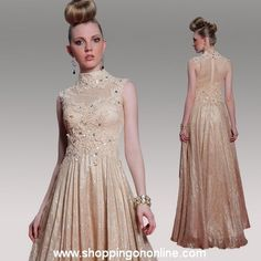 Professional Dresses, Prom Dresses, Formal Dresses, High Collar, Silk Dress, Unique, Stuff To Buy, Shopping, Fashion