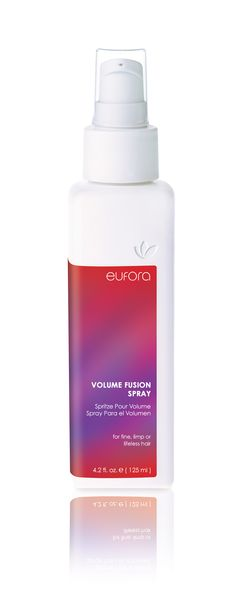 Volume Fusion Spray: Bring life to your limp hair, and watch it stay all day!