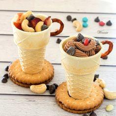 כוסות קינוח אכילות Edible Dessert Cups Picrest | Picrest