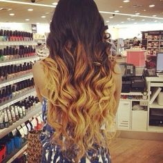 Ombre hair ❤️