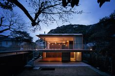 tezuka architects: house to catch the mountain