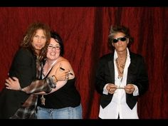 met Steven and Joe and had them sign my back Prince Stories, Cold Sore, Steven Tyler, Aerosmith, Front Row, Give It To Me, Couple Photos, Youtube, Sign