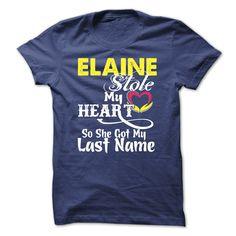 #Sportstshirt... Awesome T-shirts  Worth :$19.ninety ninePurchase Now  Low cost Codes View photographs & pictures of ELAINE stole my heart t-shirts & hoodies:In case you do not completely love our design, you possibly can SEARCH your favourite one through the ....