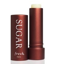 Sugar Lip Treatment from fresh rocks my world!  Put it on once, stays put and it's not sticky.  The only thing better than this is that it now comes in colors!
