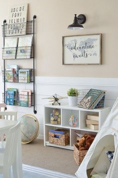 Modern Farmhouse Style Decorating Ideas On A Budget (1) #DecoratingIdeasForKidsRoomsWalls