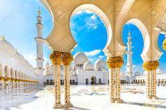 Sheikh Zayed Mosque, Abu Dhabi, United Emirat Arab