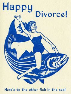 Saddle up, ladies!  #divorce #fishride #fishinthesea