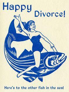 Saddle up, ladies!  #divorce #fishride #fishinthesea