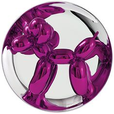 Jeff Koons Balloon Dog (Magenta)