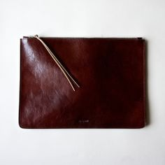 #Oxblood Heirloom Portfolio from Rib & Hull