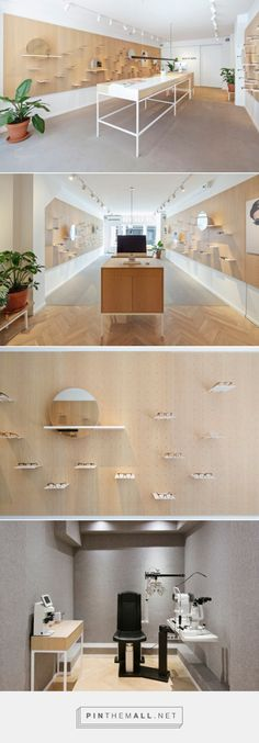 ace & tate eyewear store by Occult Studio, Amsterdam – Netherlands » Retail Design Blog... - a grouped images picture - Pin Them All
