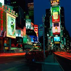 New York, NY Times Square ~ Drove through there many times!  What an awesome light show!