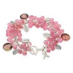 INSPIRATION PHOTO - I'm making one! Who I Walk For Bracelet, via Fusion Beads Inspiration Gallery